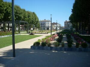 Ludo Expression, der Gambetta-Platz in Carcassonne